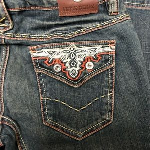 Antik Denim Distressed Jeans, Size 29